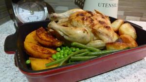 Roast Chicken and Veg (S)