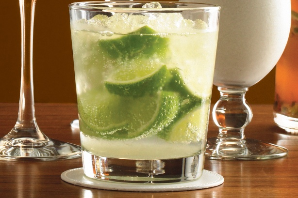 Vodka with Lime Crush^