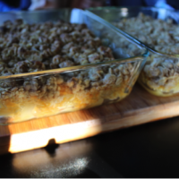 Pear and Brown Sugar Oat Crumble
