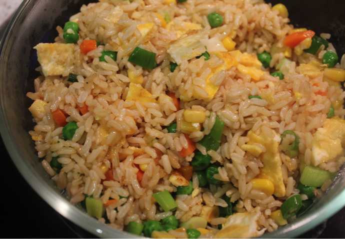 Fried Rice with egg #