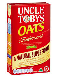 Uncle Toby OATS – Porridge