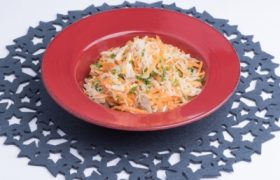 Carrot and Chicken Vermicelli Salad (S)