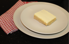 White Chocolate Caramel Slice
