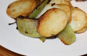 Sauteed Choko and Potato