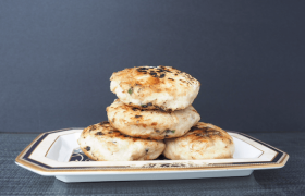 Chicken, Chickpea and Chive Patties