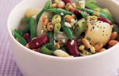 Beanpearsalad