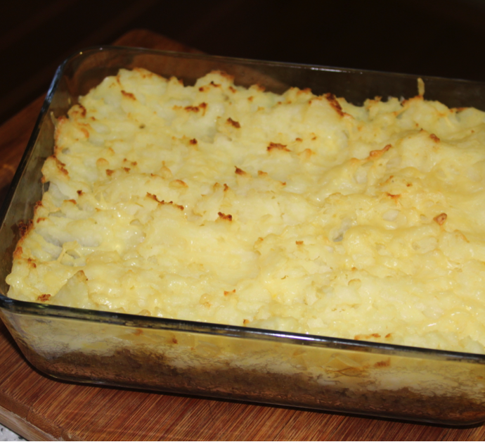 Beef and Lentil Cottage Pie
