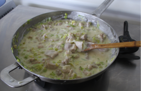 Creamy Chicken and Leek