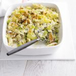 Leek and White Fish Penne Pasta Bake