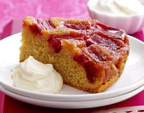 rhubarb-upside-down-cake