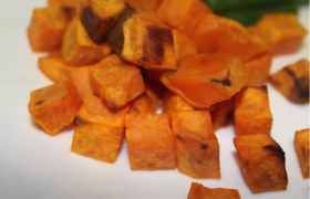 Roasted Sweet Potato Bites (S)