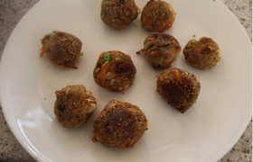 Lentils - Cashew Balls or Patties