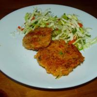 Sweet Potato Fish Cakes (S)(A)