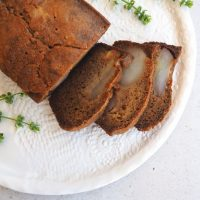 Pear and Vanilla Bread